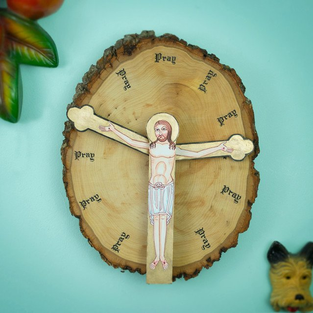 """Time-To-Obey-The-Lord Clock. """"Have you been doing enough praying lately?"""" MacDonald asks. """"Probably not, but there's no time like the present."""