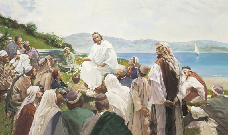 Sermon on the Mount, by Harry Anderson. Photo courtesy of the Church of Jesus Christ of Latter-day Saints
