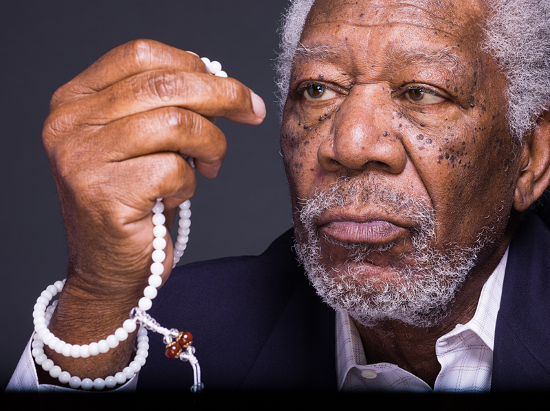 """Morgan Freeman from """"The Story of God with Morgan Freeman"""" airing on the National Geographic Channel. Photo courtesy of National Geographic Channels/Miller Mobley"""