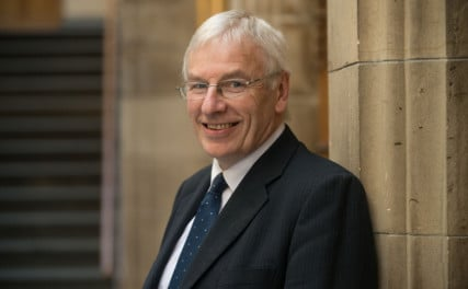 John Sinclair poses for a portrait during the General Assembly of The Church of Scotland in 2015. Photo courtesy of courtesy of the Church of Scotland