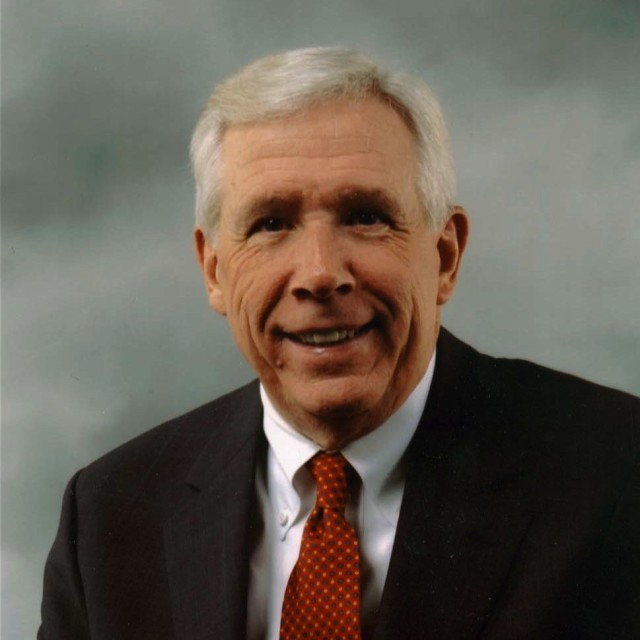 Former Rep. Frank Wolf, (R - VA). Photo courtesy of Family Research Council.