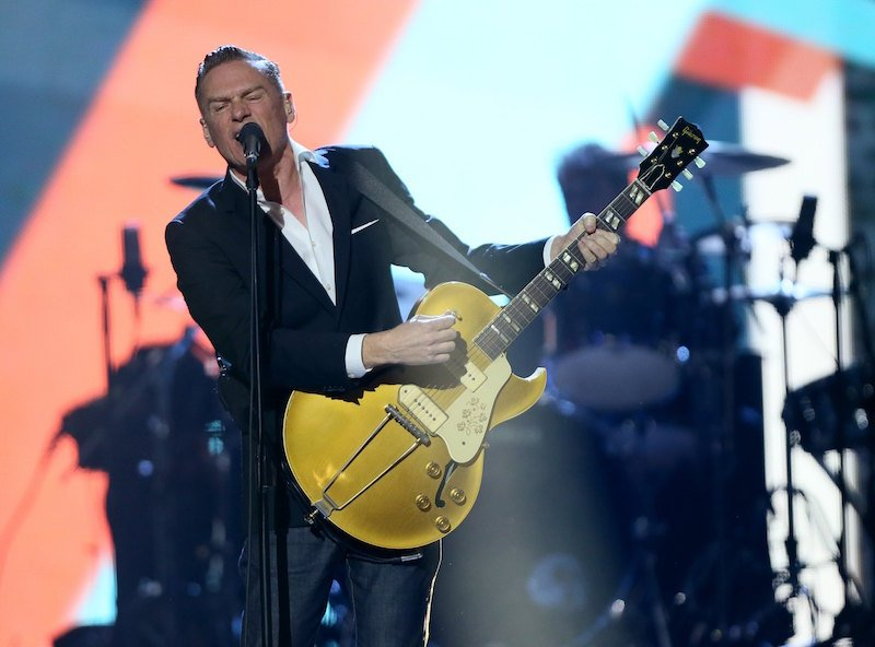 Singer Bryan Adams performs on stage at the 2016 Juno Awards in Calgary, Alberta, Canada, in this file photo taken on April 3, 2016. Photo courtesy of REUTERS/Mike Ridewood/Files