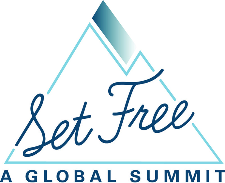 Set Free Global Summit logo. Photo courtesy of Set Free Global Summit
