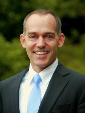 Brad R. Fulton, recipient of the Algernon Sydney Sullivan Award
