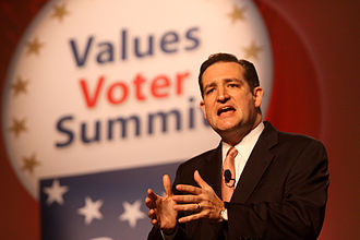 Ted Cruz speaking at the 2011 Value Voters Summit