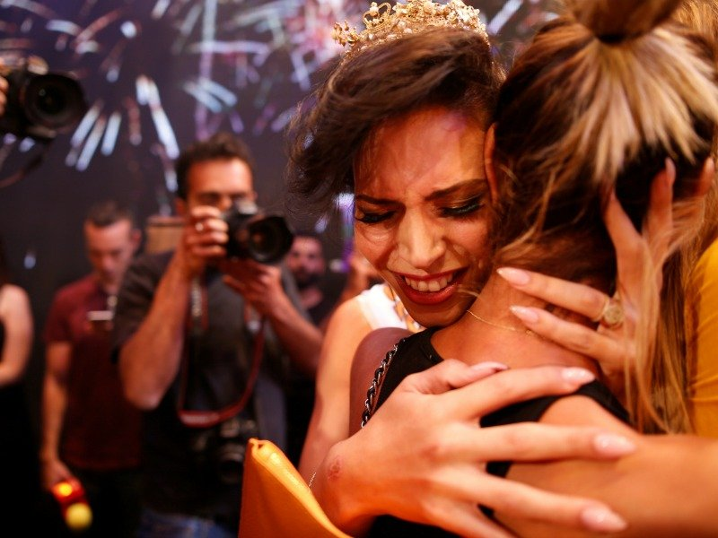 Winner of Miss Trans Israel beauty pageant