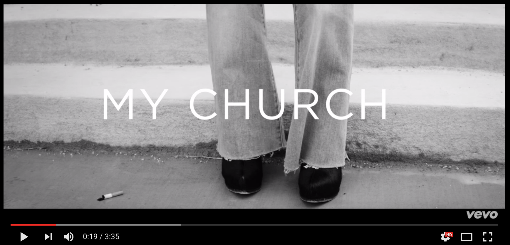 Maren Morris video screenshot