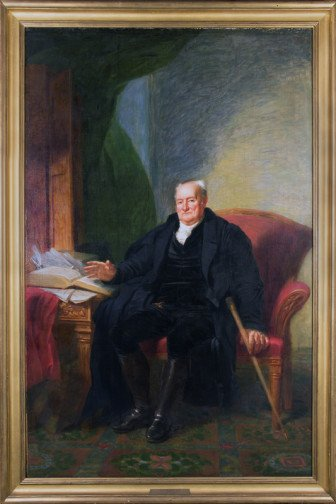 Elias Boudinot (1740-1821) was the founding president of American Bible Society. Photo courtesy of American Bible Society