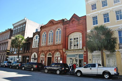 Broad Street in Charleston, South Carolina.