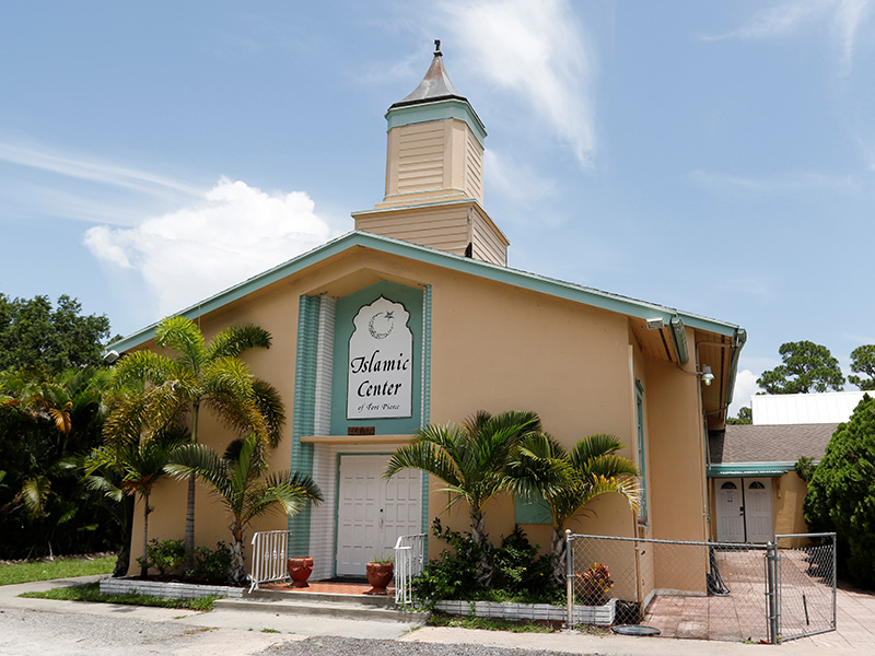 A view of the Islamic Center of Fort Pierce attended by Pulse nightclub shooter Omar Mateen
