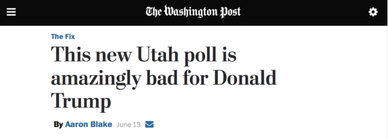 Trump Mormon Washington Post