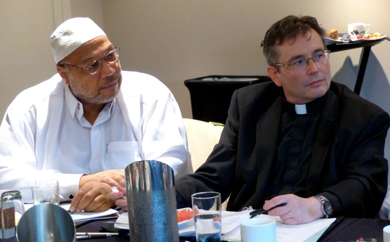 Imam Daayiee Abdullah and Reverend Dwayne