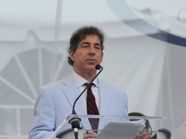 Maryland state Sen. Jamie Raskin who is running for for U.S. Congress in Maryland's 8th District addresses the Reason Rally in Washington, D.C. June 4, 2016. RNS photo by Adelle M. Banks
