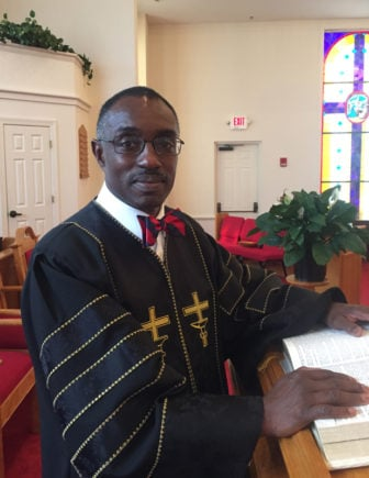The Rev. Dr. Jon R. Black - Campbell Chapel AME Church Bluffton, SC. Photo courtesy of Donna E. Black