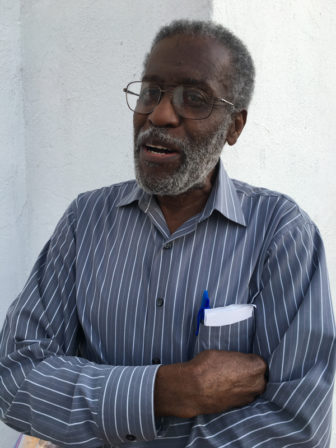 Willi Glee, the chairman of Emanuel AME Church's board of trustees, and a member of the congregation since 1991. Religion News Service by Lauren Markoe