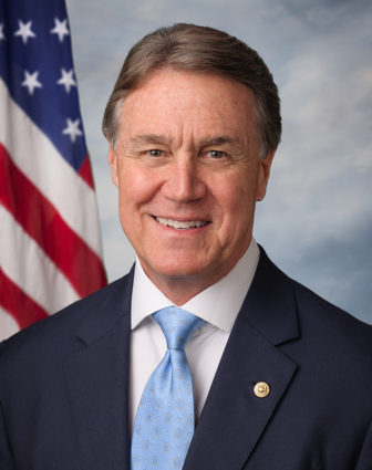 Georgia Senator David Perdue recently recited scripture while criticizing President Obama. Photo courtesy of the Office of Senator David Perdue