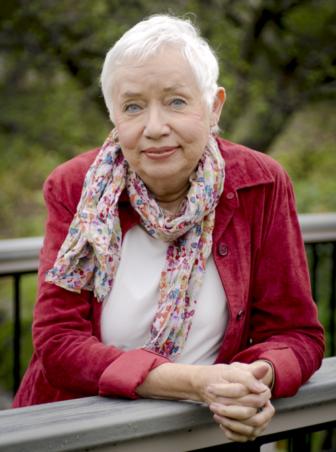 Author Carol Lynn Pearson.