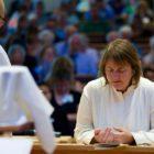 The consecreation service of the United Methodist Bishop Karen Oliveto
