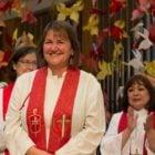Newly elected Bishop Karen Oliveto