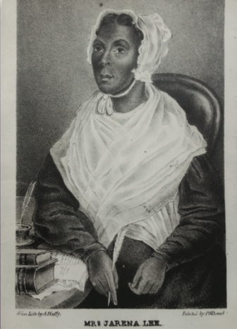 P.S. Duval, Mrs. Jarena Lee; half, seated, 1849, Lithograph. Courtesy of Charles Blockson Afro-American Collection, Temple University