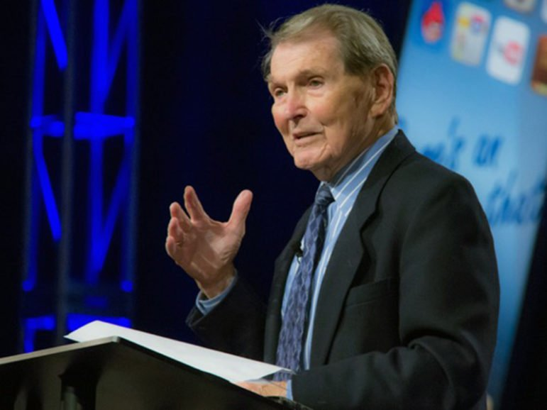 """Tim LaHaye, the evangelical leader known for his conservative politics as well as the best-selling """"Left Behind"""" series, has died at age 90, his ministry announced. Photo courtesy of Evangelical Press Association"""