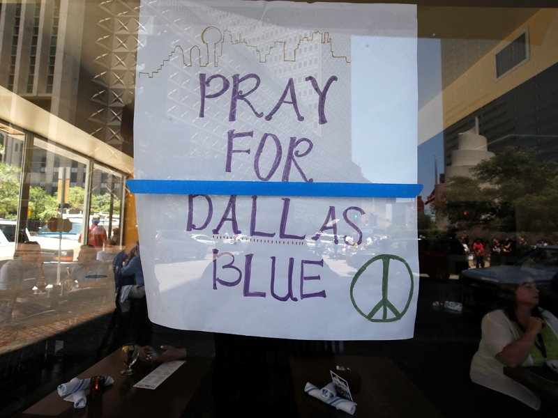 After The Shootings Dallas Clergy Will Pray Then