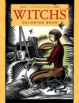 Llewellyns Witchs Coloring Book Cover-Jennifer Hewitson. Photo courtesy of Llewellyn Publications ©Jennifer Hewitson