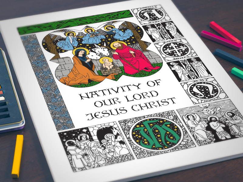 Adult coloring books get niched - Religion News Service