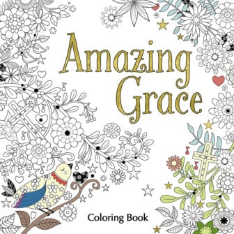 """Amazing Grace"" coloring book courtesy of Zondervan and Thomas Nelson Bibles"