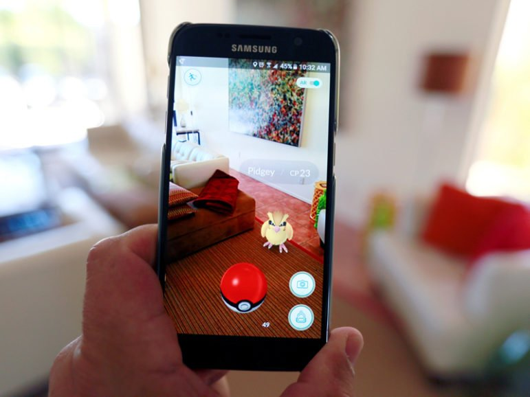 The augmented reality mobile game