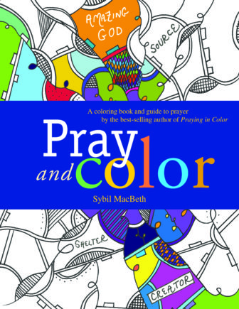 Pray and Color Front Cover