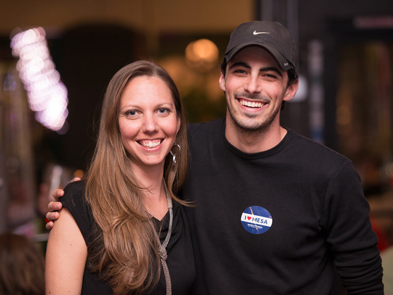 Serah Blain and Evan Clark operate Spectrum Experience, a communications firm representing nine openly humanist-atheist candidates running for office in Arizona. Photo courtesy of Jim Hesterman