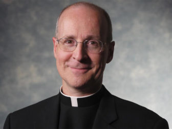 """The Rev. James Martin, a Jesuit priest and author of """"My Life with the Saints."""" Photo courtesy of Nutopia"""