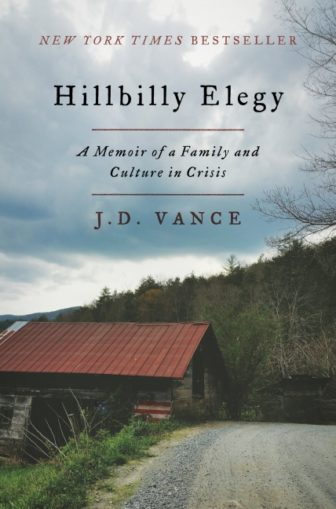 """J.D. Vance is the author of """"Hillbilly Elegy: A Memoir of a Family and Culture in Crisis,"""" which has been on The New York Times Best Sellers list for four weeks. Image courtesy of HarperCollins."""