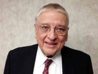 Reverend Dr. William Harter. Photo courtesy of Lee Harter