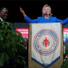 Hillary Clinton speaks to the Annual Session of the National Baptist Convention