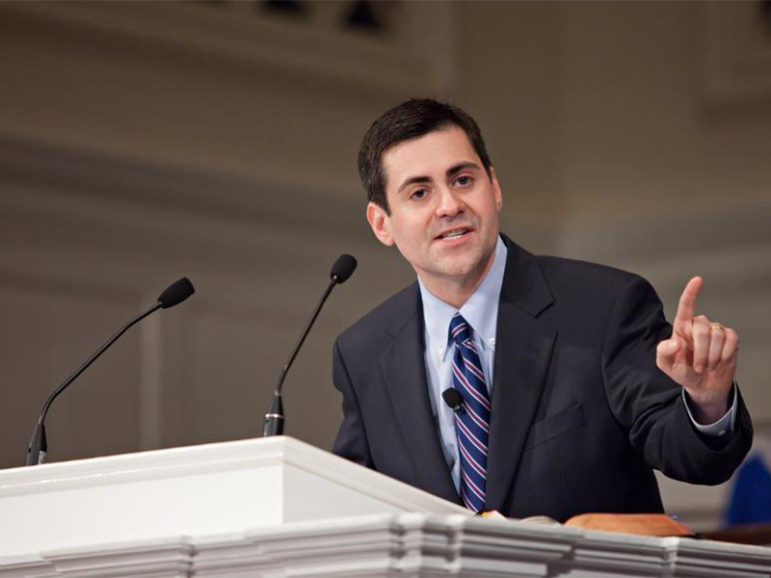 Russell Moore preaching at the Southern Baptist Theological Seminary on Oct. 9, 2011. Photo courtesy of Wikimedia Commons
