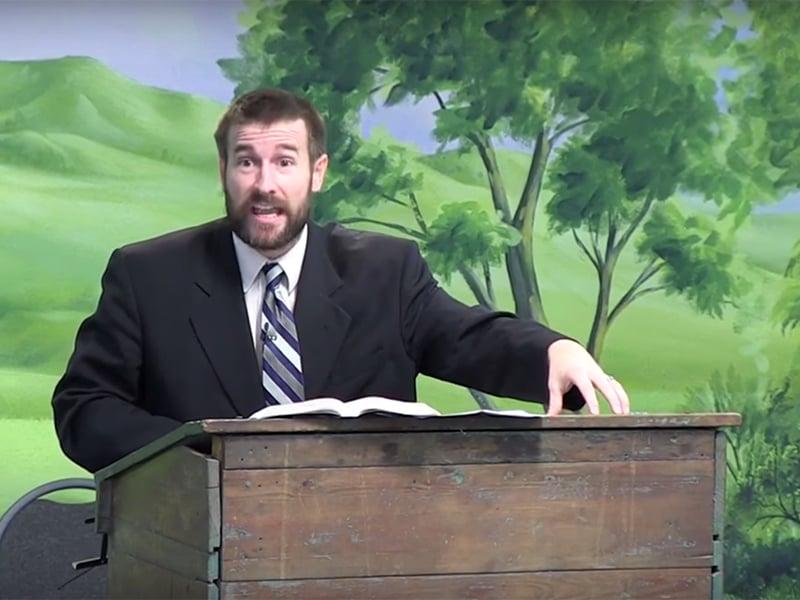 Faithful Word Baptist Church Pastor Steven Anderson