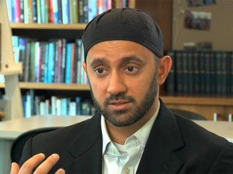 Imam Khalid Latif, chaplain at New York University. Photo courtesy of Religion & Ethics NewsWeekly