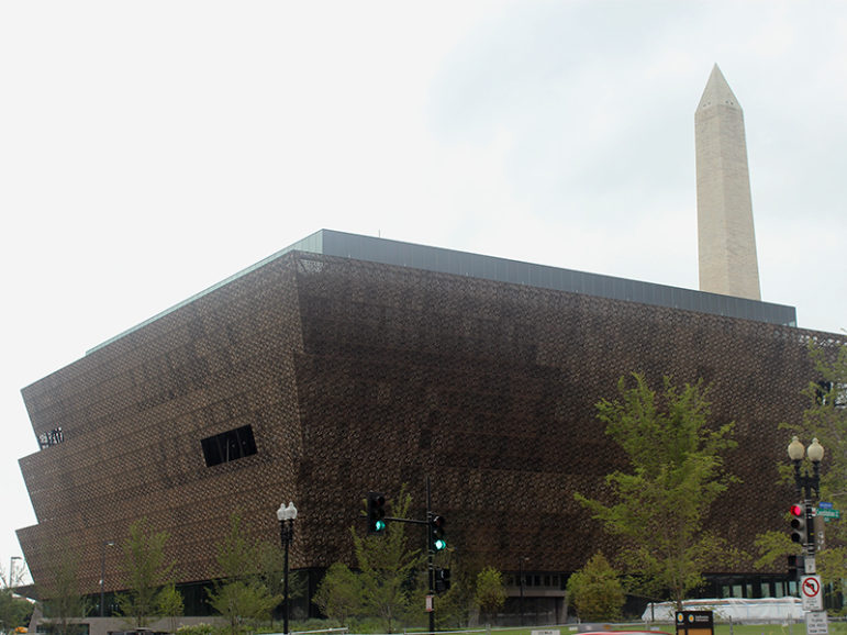 The National Museum of African American History and Culture is set to open Sept. 24, 2016, in Washington. RNS photo by Adelle M. Banks