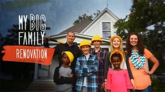"Jen and her family starred in ""My Big Family Renovation"" on HGTV. - Image courtesy of Jen Hatmaker"