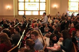An American church congregation