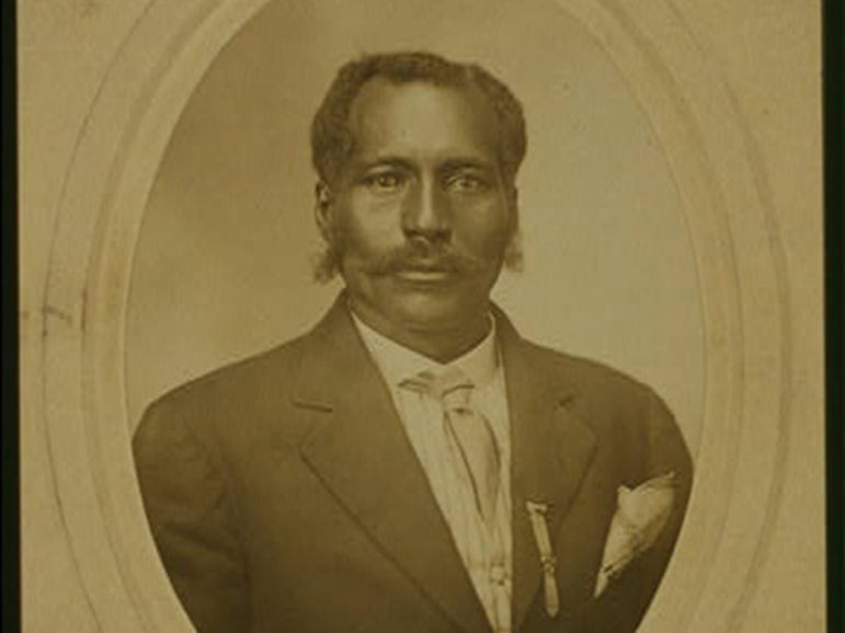 Portrait image of Anthony Crawford, who was lynched in Abbeville, S.C., in 1916. Image was taken around 1910.