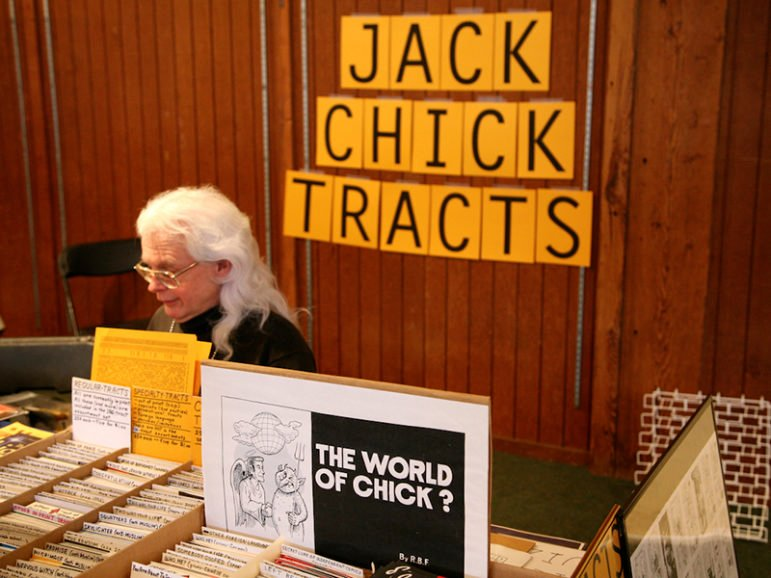 Jack Chick, the cartoonist behind the sin and salvation Christian Chick Tracts, died Sunday (Oct. 23) at age 92.