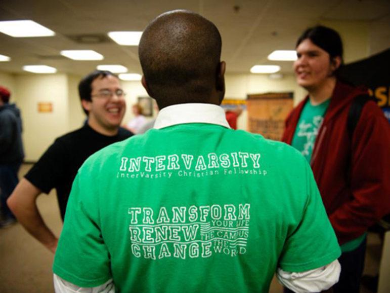InterVarsity students. Photo courtesy of InterVarsity