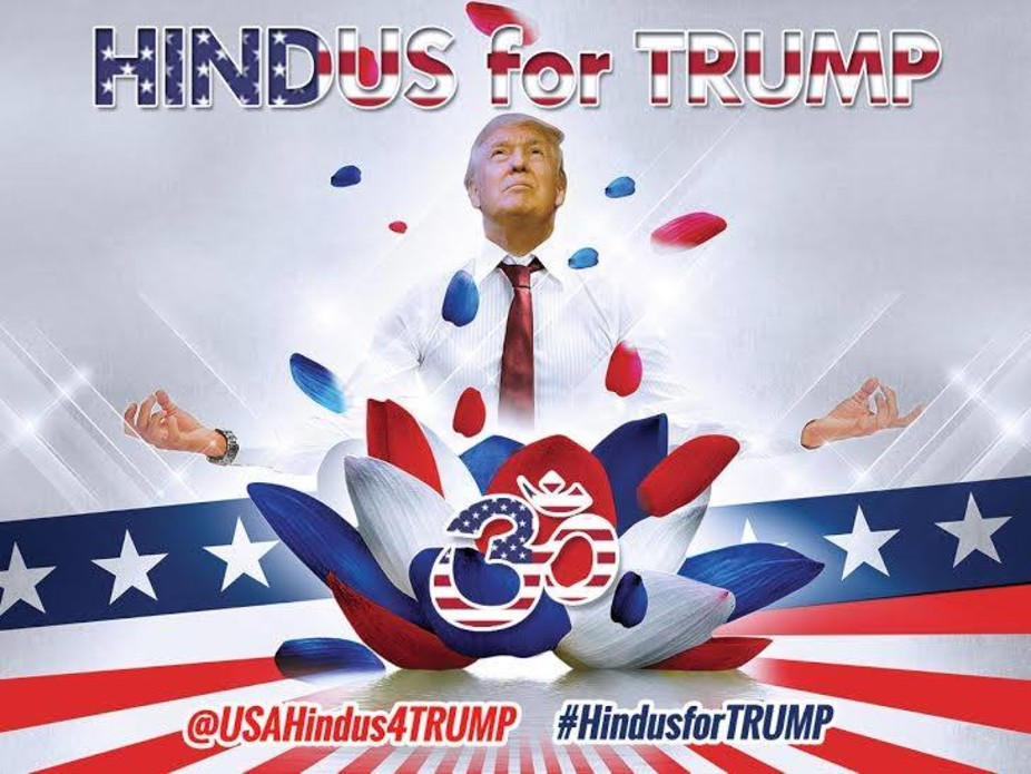 What Does Trump Have To Do With The Hindu Sacred Syllable Om