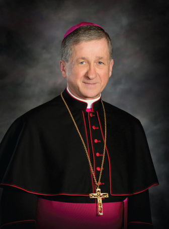 Chicago Archbishop Blase Cupich. Courtesy of the Archdiocese of Chicago