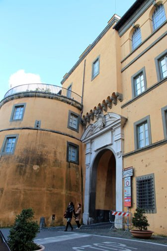Pope Francis is turning Castel Gandolfo into a museum for the public. RNS photo by Josephine McKenna