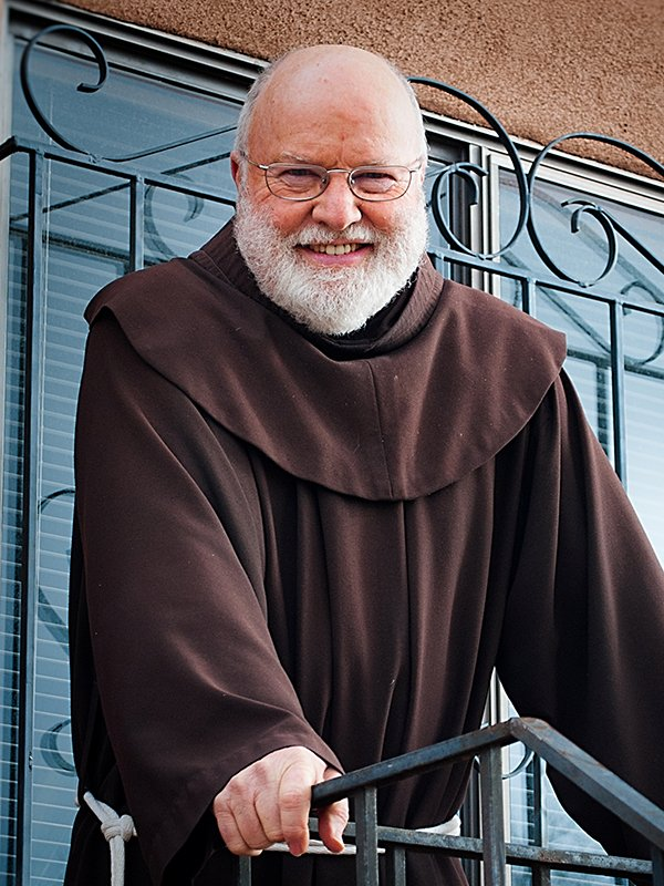 "Richard Rohr, author of ""The Divine Dance."". Photo courtesy of Whitaker House"