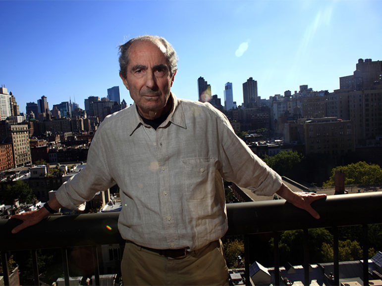 Author Philip Roth poses in New York City on Sept. 15, 2010. Photo courtesy of REUTERS/Eric Thayer